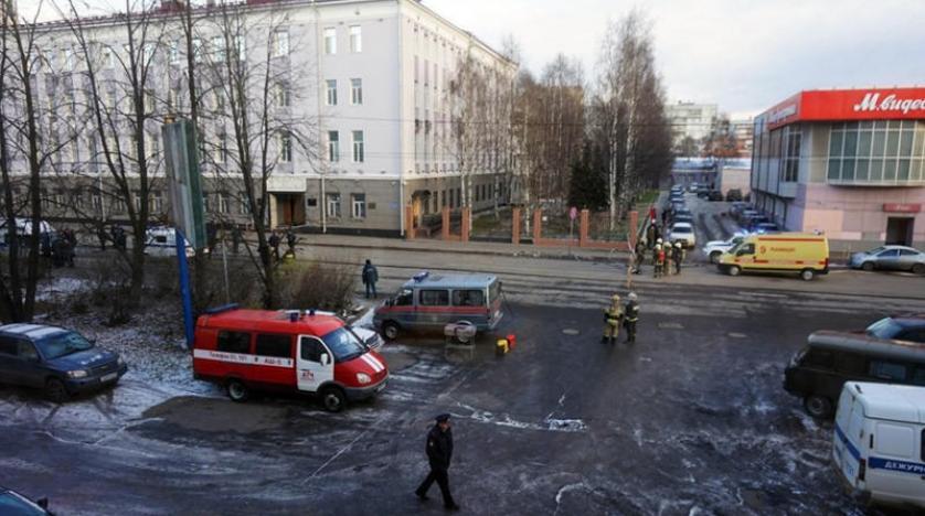 Rusya'nın Arhangelsk kentindeki FSB binasında patlama: 1 ölü