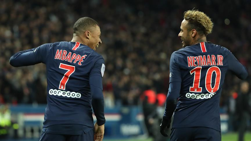 PSG'nin yıldızları Neymar ve Mbappe sakatlandı