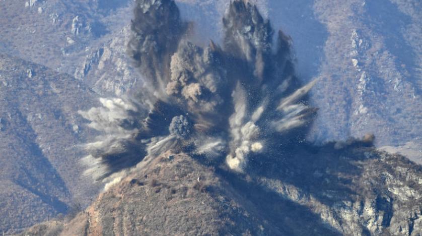 Kuzey Kore sınırdaki 10 askeri noktayı imha etti