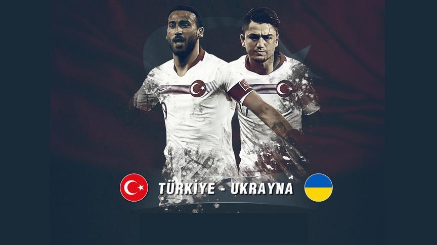 A Milli Futbol Takımı Ukrayna'yı konuk edecek