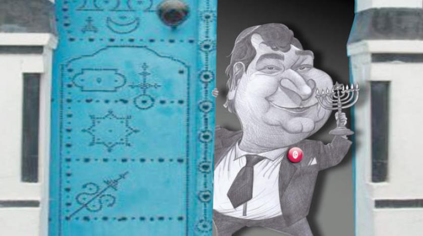 Yeni Tunus Hükümetinin en gözde üyesi Yahudi asıllı Roni Trablusi