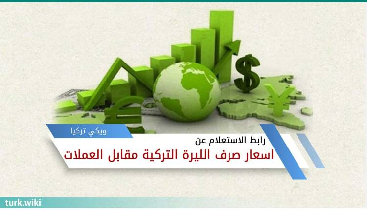 رابط الاستعلام عن اسعار صرف الليرة التركية مقابل العملات