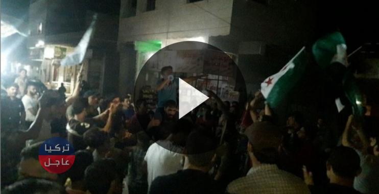 مظاهرة في مدينة اللاذقية دعماً للجيش السوري الحر (فيديو)