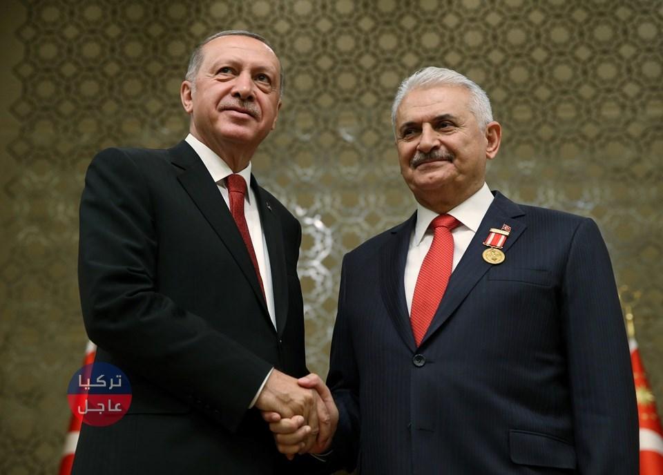 بن علي يلدريم نائباً لأردوغان .. مفاجئة تكشفها صحيفة تركية