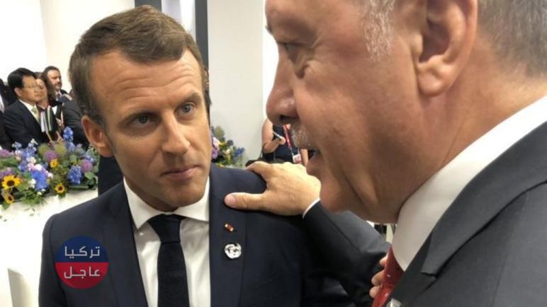 الرئاسة التركية: الرئيس الفرنسي ماكرون كمن يكسر الكؤوس ويطلب مزيدا من الشاي