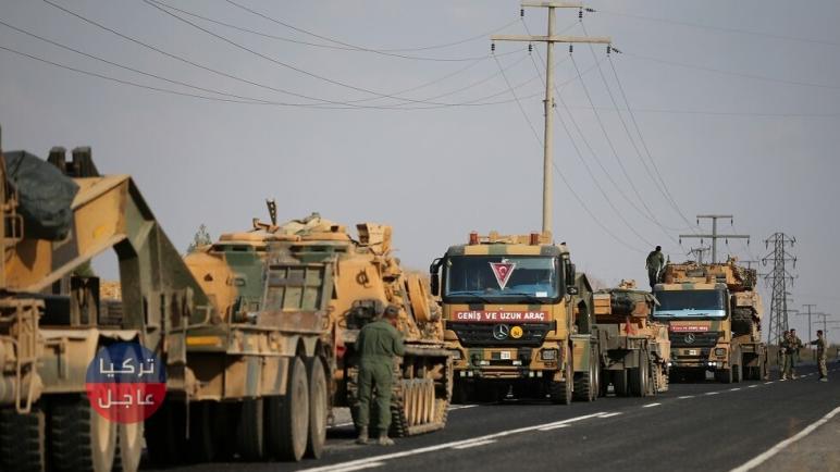 الجيش التركي يدفع بعشرات الدبابات والآليات العسكرية إلى إدلب