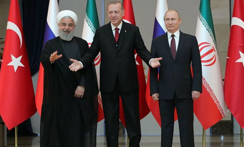اجتماع لروسيا وتركيا وإيران بشأن الوضع السوري غداً