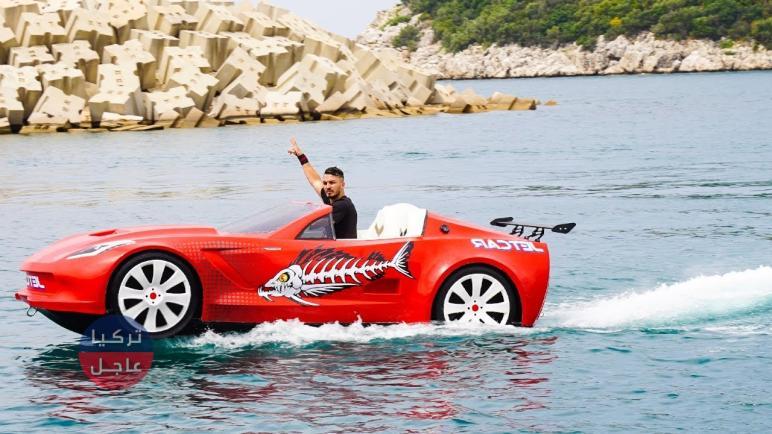 هل شاهدت السيارات البحرية التركية من قبل؟ شاهد بالفيديو مُبهرة السياح