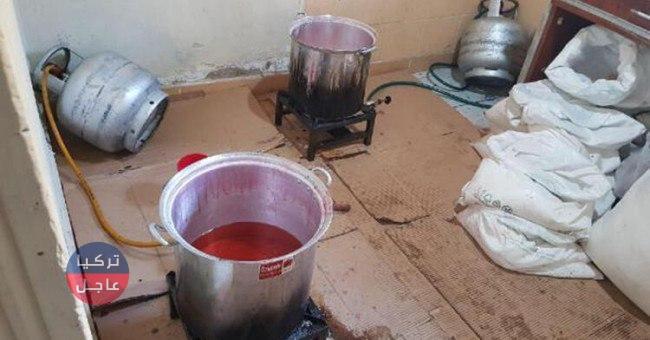 """ضبط 5 سوريين يصنعون """"المعسل"""" داخل منزل في """"باشاك شهير"""""""