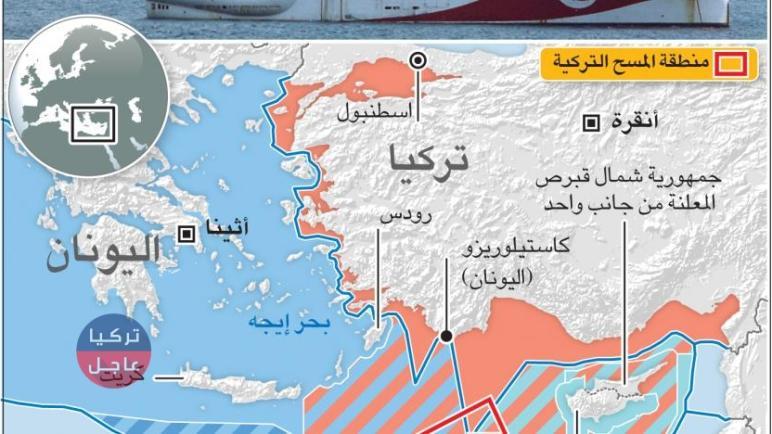 اجتماع دول جنوبي أوروبا برئاسة و احتضان فرنسا لكف يد تركيا شرق المتوسط و تركيا ترد