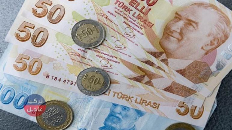 سعر صرف الليرة التركية منتصف اليوم السبت