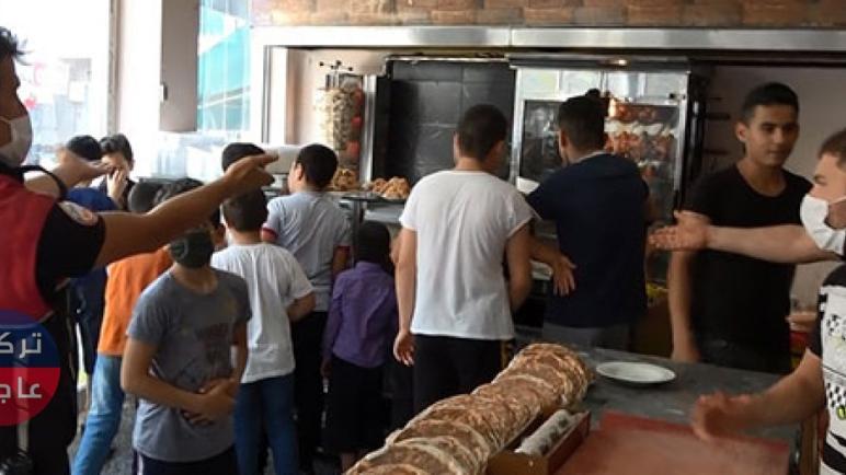 الأمن التركي يفض ازدحاماً داخل مطعم سوري بإسطنبول