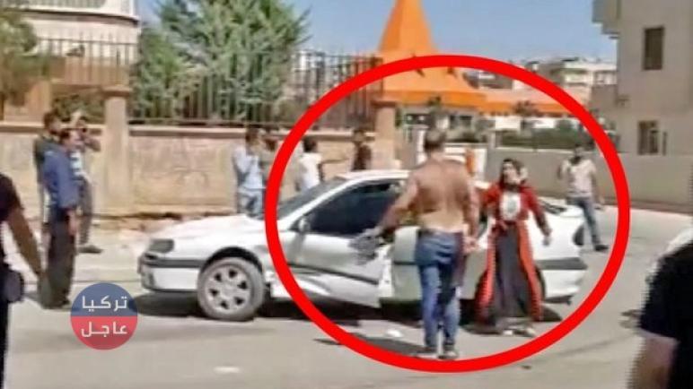 شاهد بالفيديو محاولة اختطاف شابة سورية في أورفا بطريقة هوليودية (فيديو)