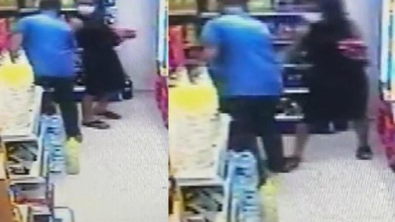 شاهد لحظة تحرش رجل بامرأة في إسطنبول (فيديو)