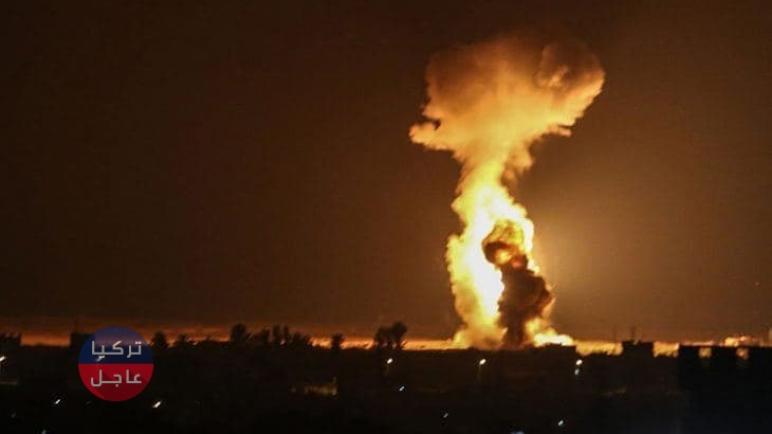 إسرائيل تمطر دمشق بغارات جوية وتقتل مسؤولاً إيرانياً كبيراً