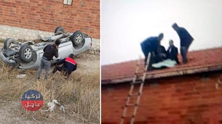 شاهد بالفيديو أغرب حادث سير يمكن أن تراه (فيديو)