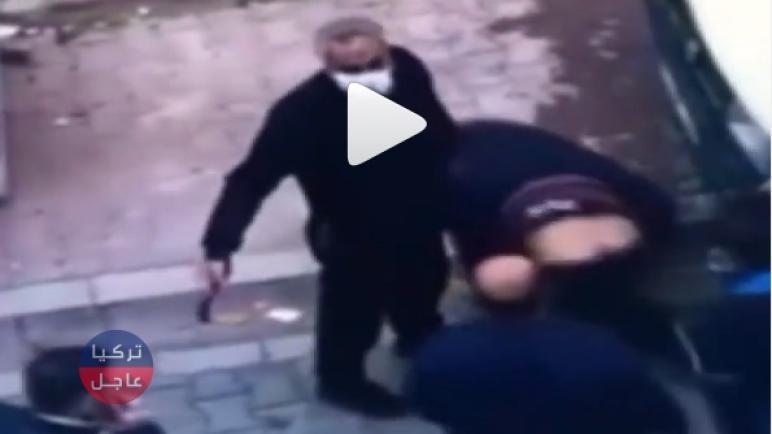 فيديو لص يقع بين أيدي أهالي الحي في منطقة اسنيورت والمفتاح الإنكليزي كان حاضراً