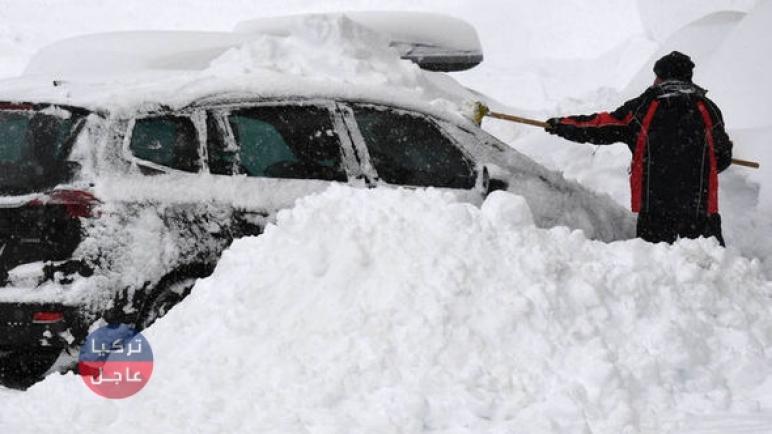 ثلوج وعواصف حالة الطقس في تركيا اليوم الأربعاء 23/12/2020