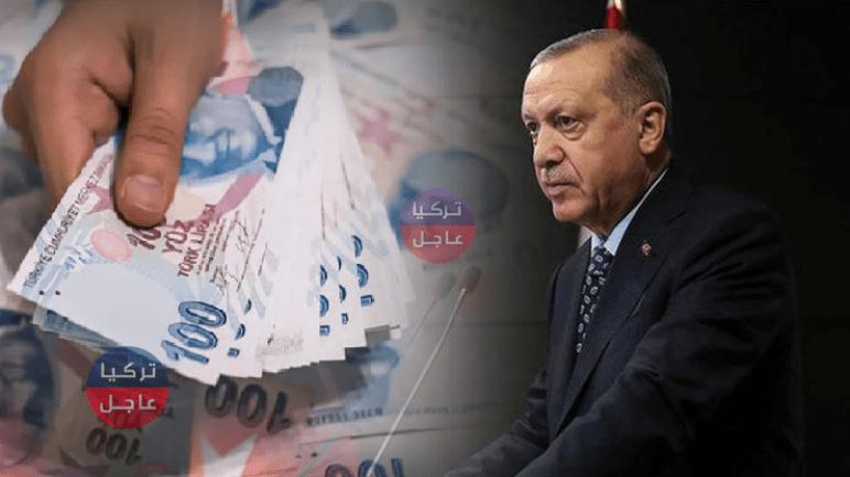 مساعدة 1000 ليرة تركية لمدة ثلاثة أشهر بقرار من أردوغان
