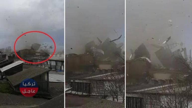 مشاهد مرعبة في بورصة اعصار ينشر الدمار ويمضي (فيديو)