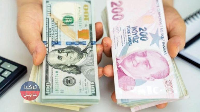 100 دولار كم تساوي ليرة تركية.. الليرة التركية مقابل الدولار مع نهاية يوم الأربعاء