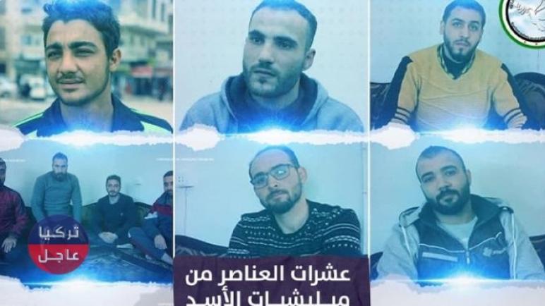 شباب علويون يهربون من مناطق سيطرة بشار الأسد إلى إدلب ويدعون الأهالي للثورة (فيديو)