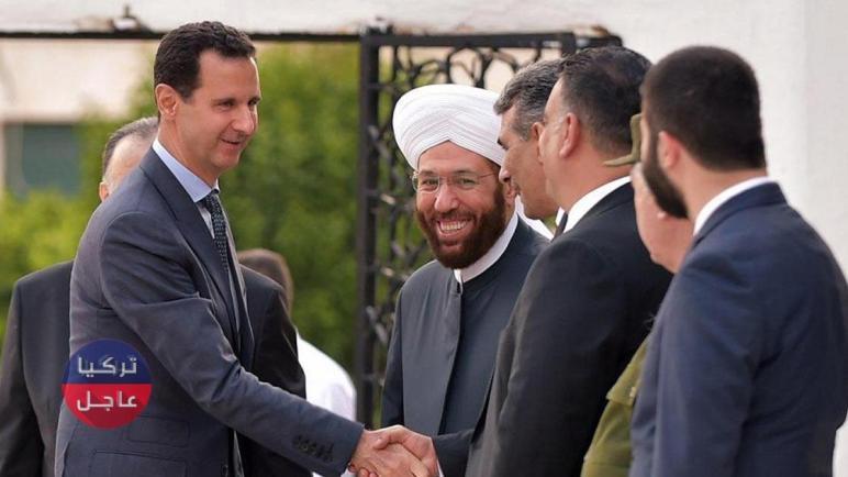 ممثلة سورية تسخر من مفتي بشار الأسد بعد تحديد زكاة الفطر في سورية