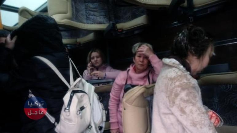 تركيا عاجل وفاة سائحين روسيين واصابة 46 سائح بحادثين منفصلين