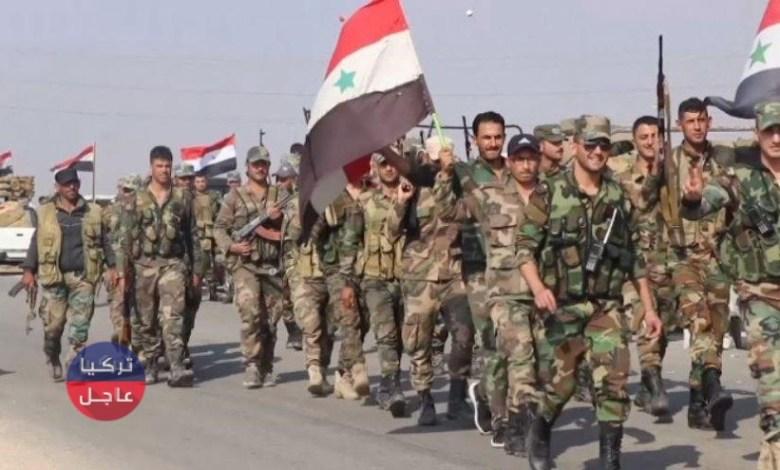 حشود عسكرية للنظام على أبواب ريف حلب
