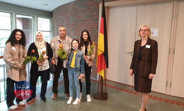 عائلة سورية تصبح حديث الإعلام الألماني ومبالغ مالية كبيرة للسوريين في ألمانيا