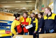 للراغبين فرص عمل لدى شركة DHL في المانيا