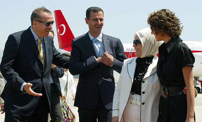 Erdogan, Bashar al-Assad, Syria, Turkey
