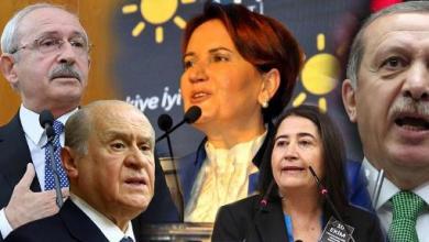 Erdogan, SONAR, AKP, Meral Aksener, parliamentary elections
