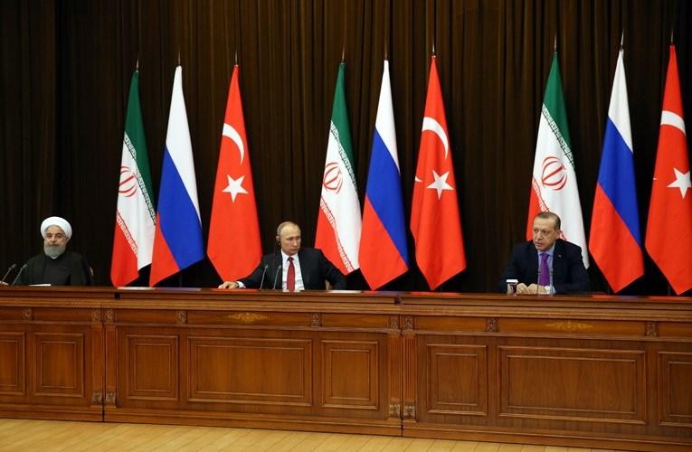 Erdogan, Putin, chair, Sochi meeting, handshake