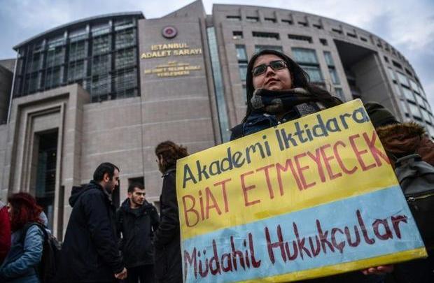 Turkish academia, professors, trial