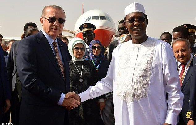 Erdogan, Chad, Turkey, Africa