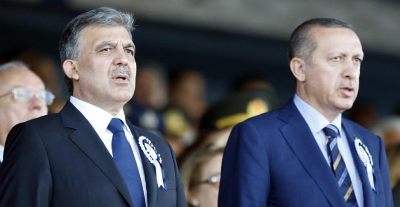 Erdogan, Abdullah Gul, criticism