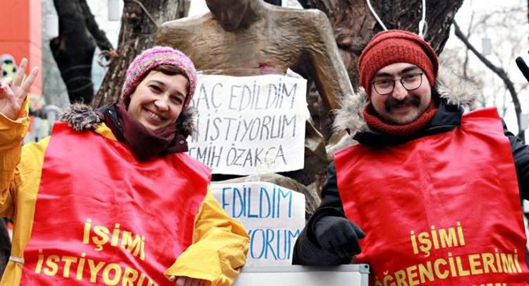 Nuriye Gulmen, Semih Ozakca, hunger strike