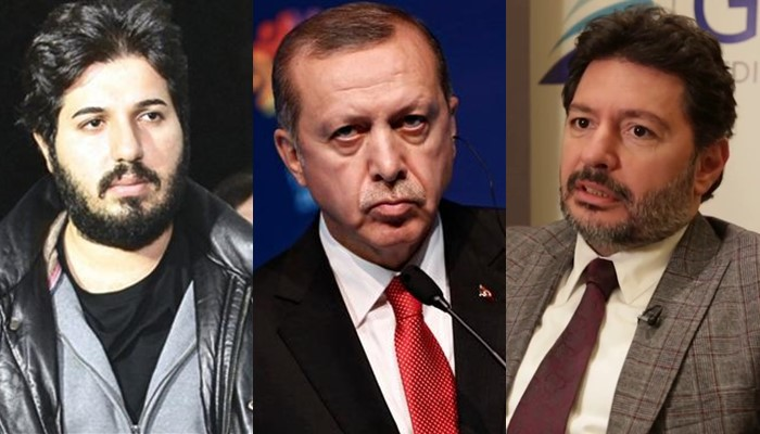Reza Zarrab, Erdogan, Huseyin Korkmaz, Mehmet Hakan Atilla