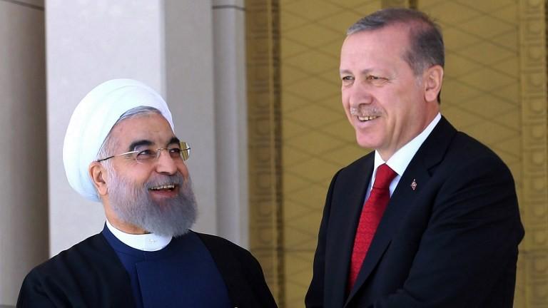 Erdogan, Iran, protests, support