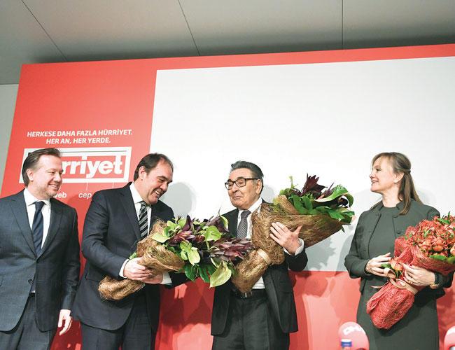 Demiroren Group, Dogan media, Hurriyet, Aydin Dogan, Erdogan, Mesut Yilmaz
