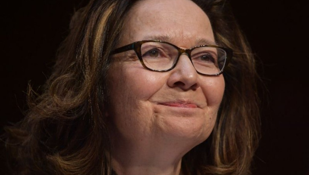Gina Haspel, the head of American Central Intelligence Agency (CIA).