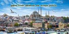 برنامج سياحي في اسطنبول لمدة اسبوع 7 أيام