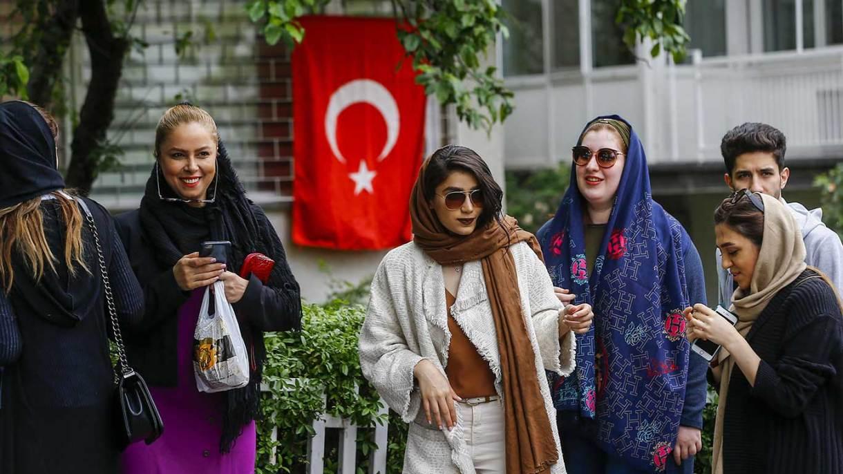 تعداد ايرانيان در تركيه