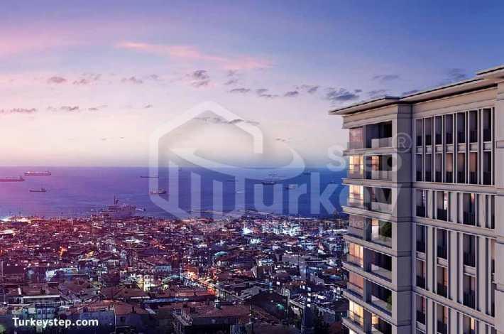 شقق للبيع في اسطنبول مشروع لوجا محل Loca Mahal - N-153