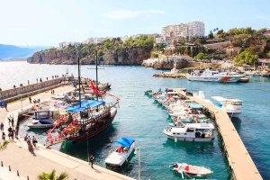 Mediterranean landscape in Antalya.