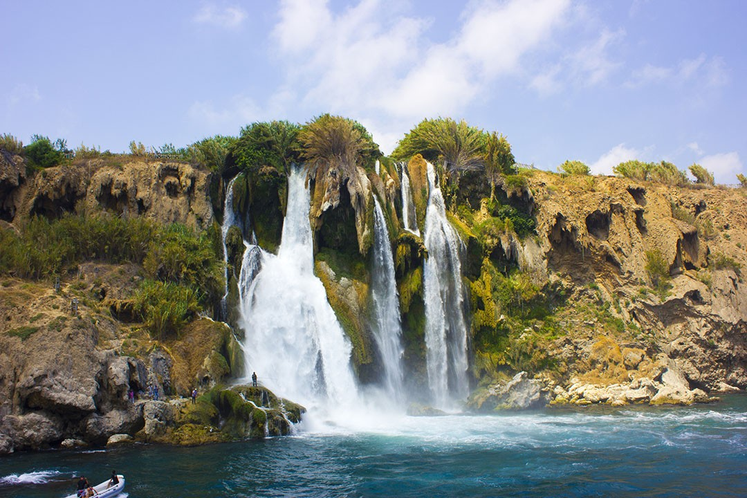 waterfall in Antalya Turkey