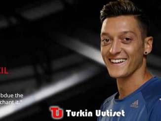 Tähtijalkapalloilija Mesut Özil