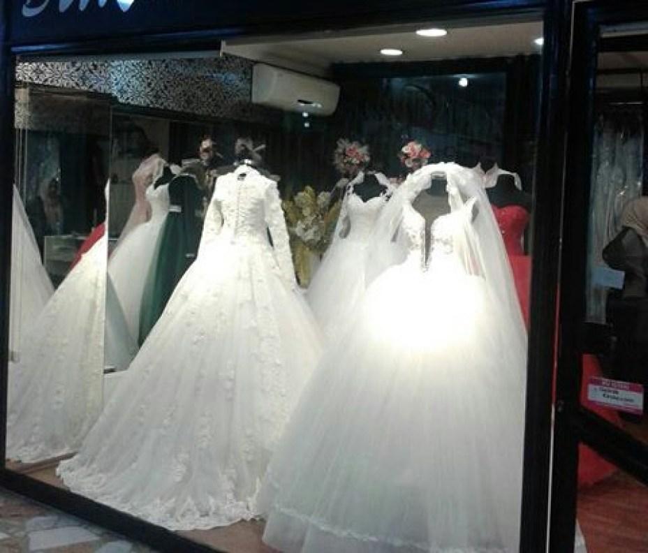 اماكن فساتين الزفاف في اسطنبول
