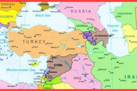 Download wallpaper high full HD » map of armenia and surrounding ...